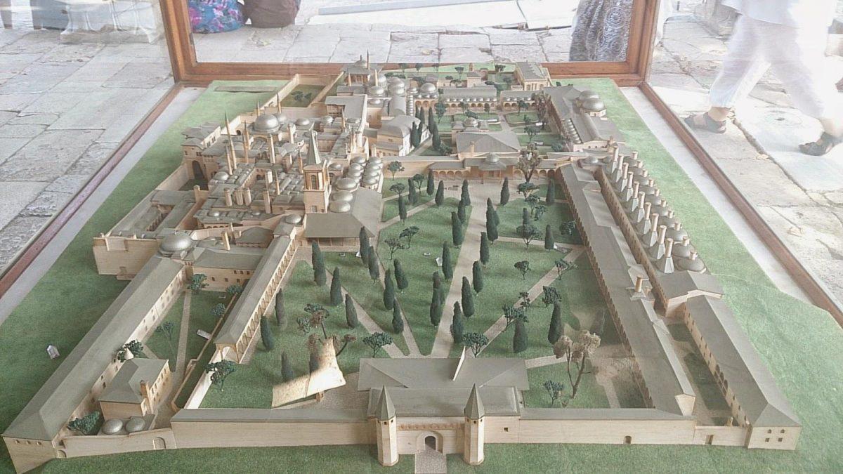 maket topkapi palace turki