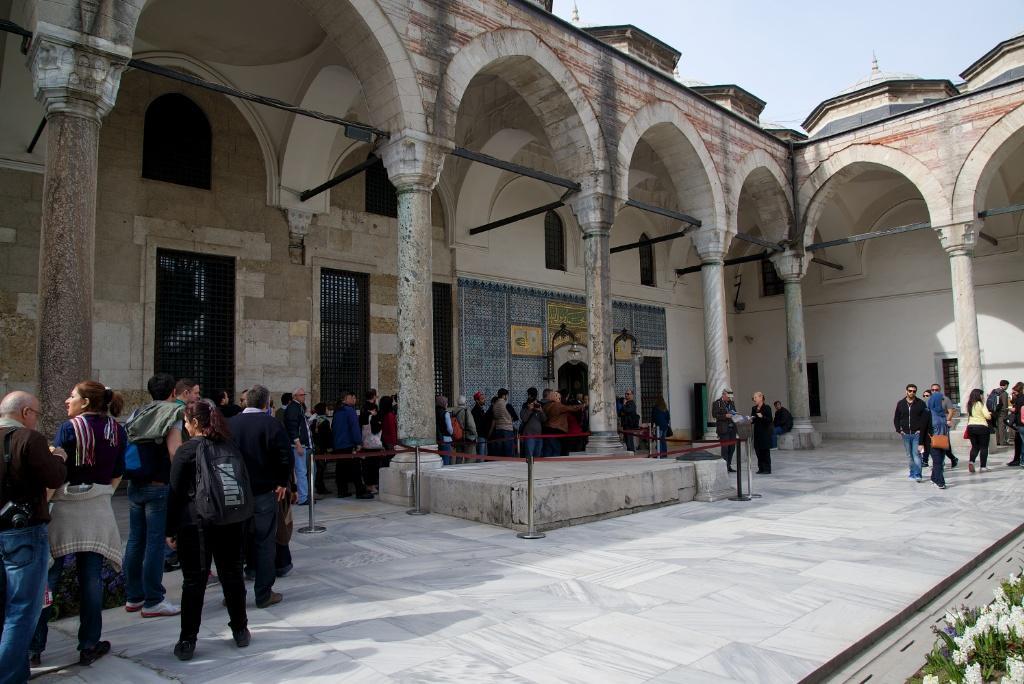 pintu masuk Sacred Relics Topkapi Palace Turki