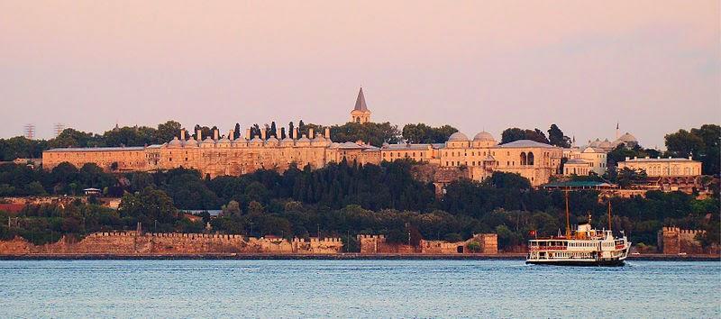 topkapi palace turki dari bosphorus