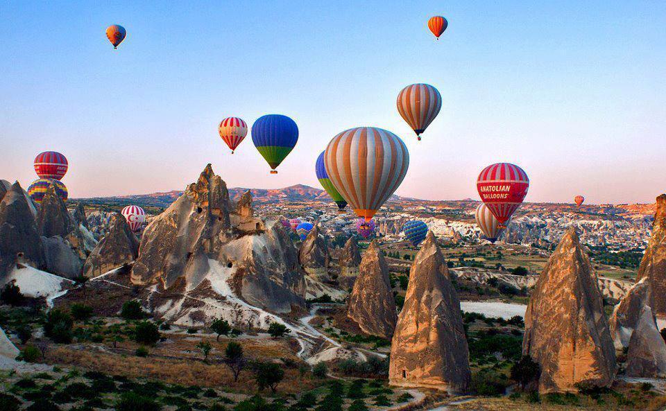 tour ke Cappadocia Turki