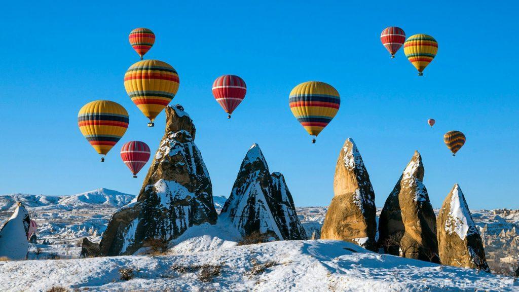 Goreme Panorama di Cappadocia