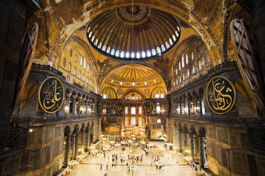 ornamen masjid di masjid biru