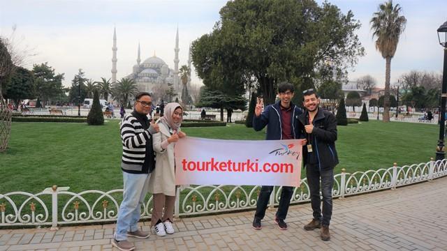 paket wisata tour turki hagia sophia