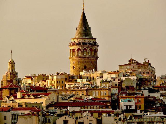 Galata Tower Istanbul Turki