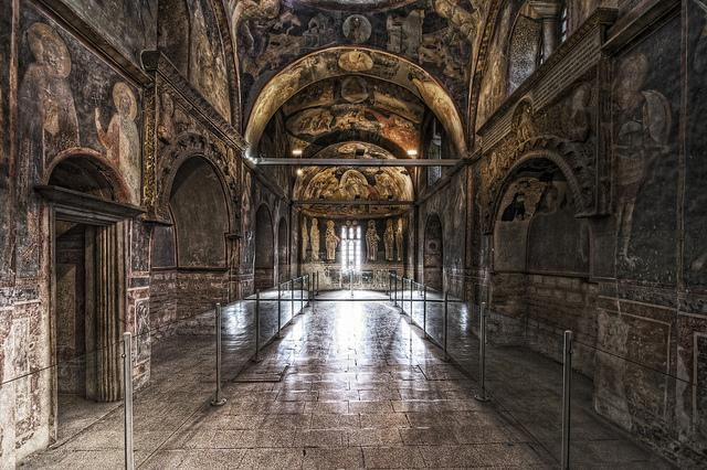 Kariye Museum The Chora Church Istanbul Turkey