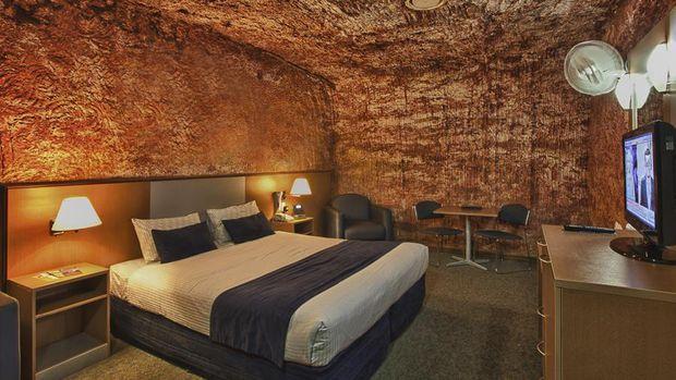 Menginap di Hotel Gua Kapadokia (Cappadocia Cave Hotel)
