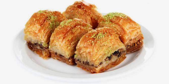 makanan khas turki baklava