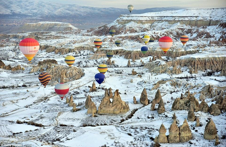musim dingin di cappadocia