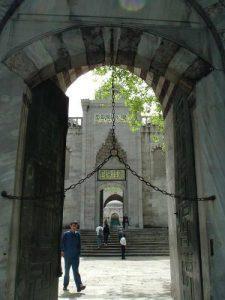 Rantai Besi Pintu Masjid Biru Sutan Ahmed Istanbul Turki