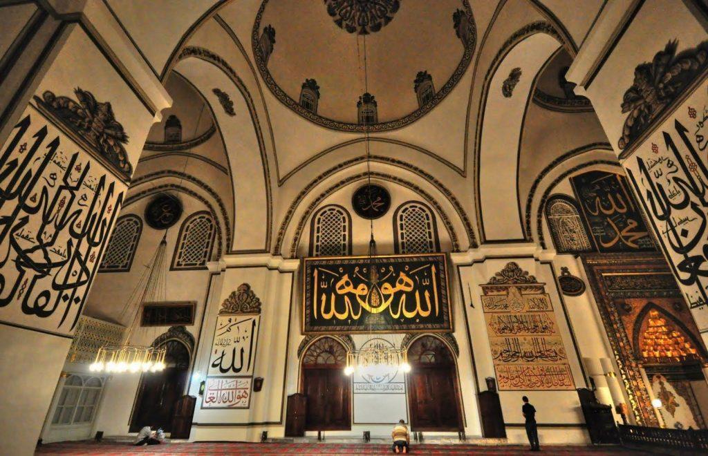 interior masjid ulu camii