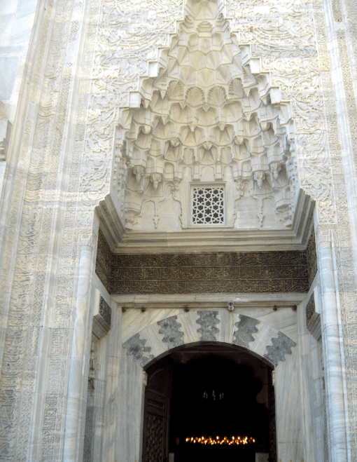 Atsitektur Masjid Hijau di Bursa