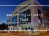 Hotel Bintang 4 di Ankara Turki Rekomendasi Terbaik Tamu