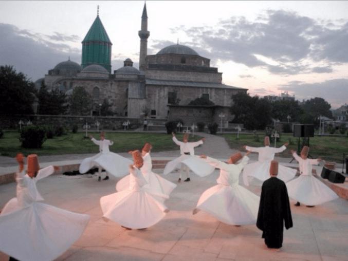 Tarian Sufi di Turki