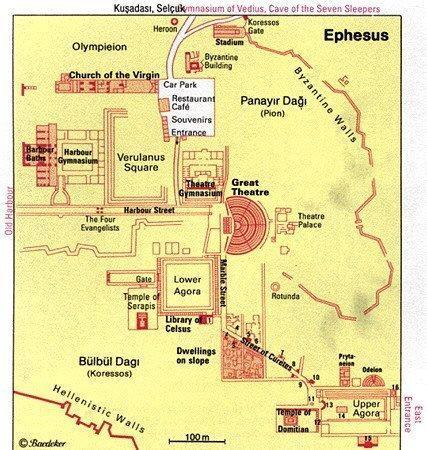 denah ephesus