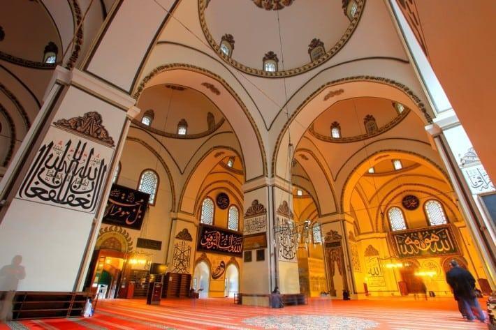 interior masjid agung ulu camii