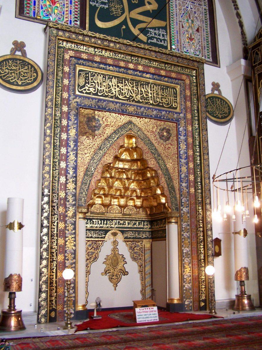 mihrab ulu camii