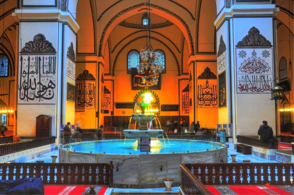 interior - tempat wudhu ulu camii