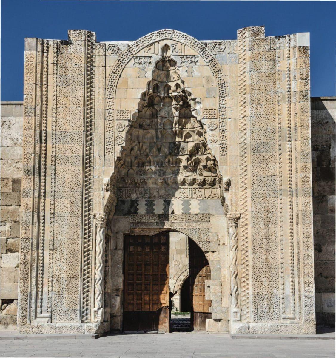 Arsitektur Sultanhani Caravanserai-Pintu Masuk