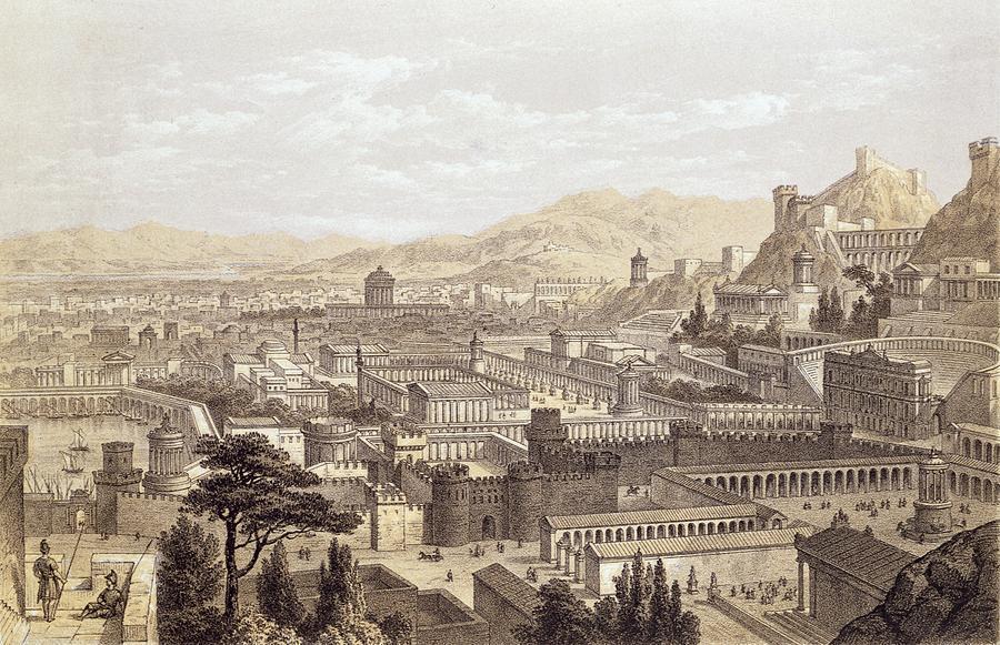 Ilustrasi Ephesus Zaman Dahulu