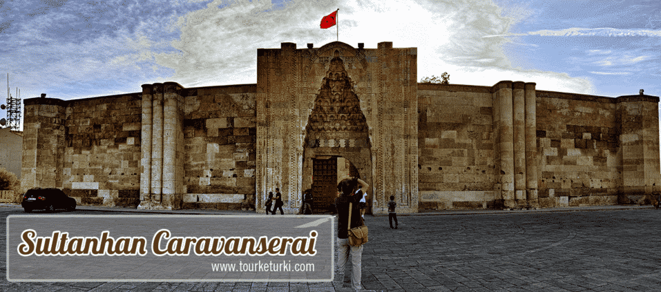 Sultanhani Caravanserai Turki, Hotel Gratis di Perlintasan Jalur Sutra
