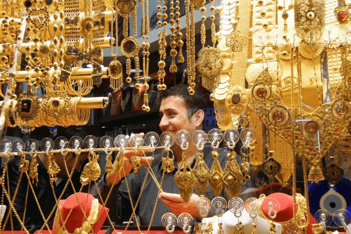 Oleh-oleh Khas Turki di Grand Bazaar Istanbul - Perhiasan