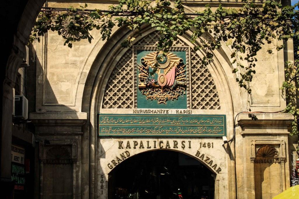 pintu masuk grand bazaar