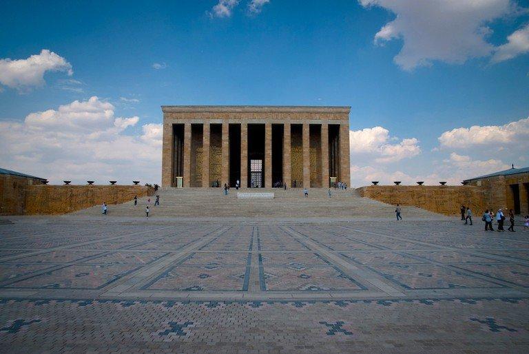 Motif Keramik Halaman Mausoleum Mustafa Kemal Ataturk
