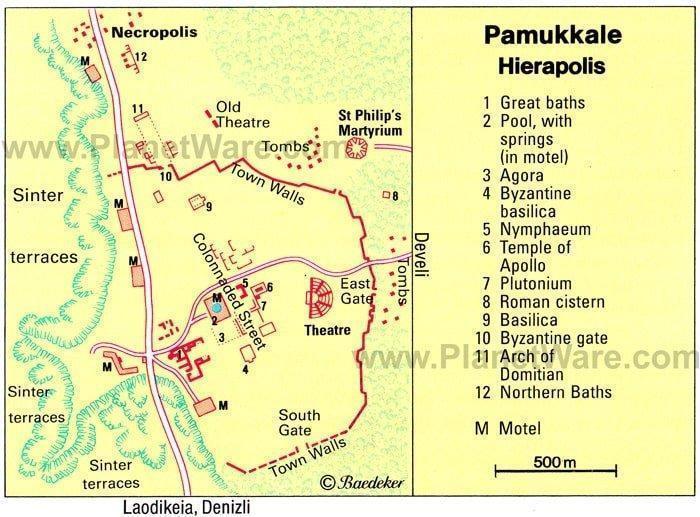 Ragam Situs Kuno di Hierapolis Pamukkale