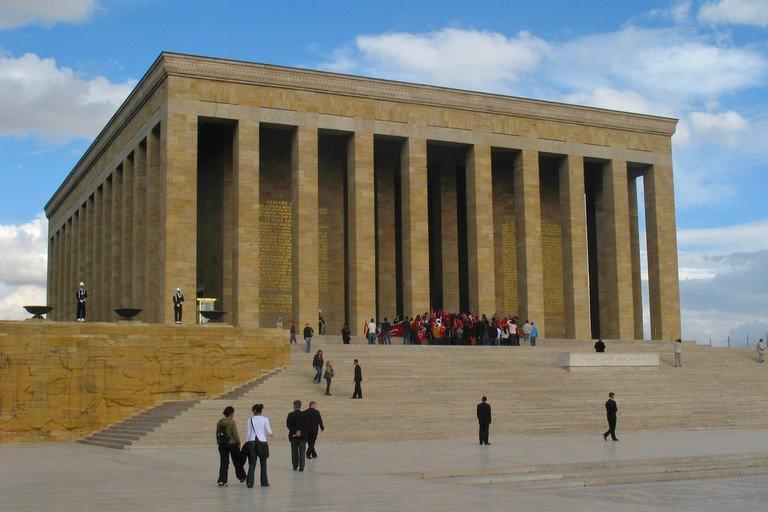 Sejarah Mausoleum Mustafa Kemal Ataturk