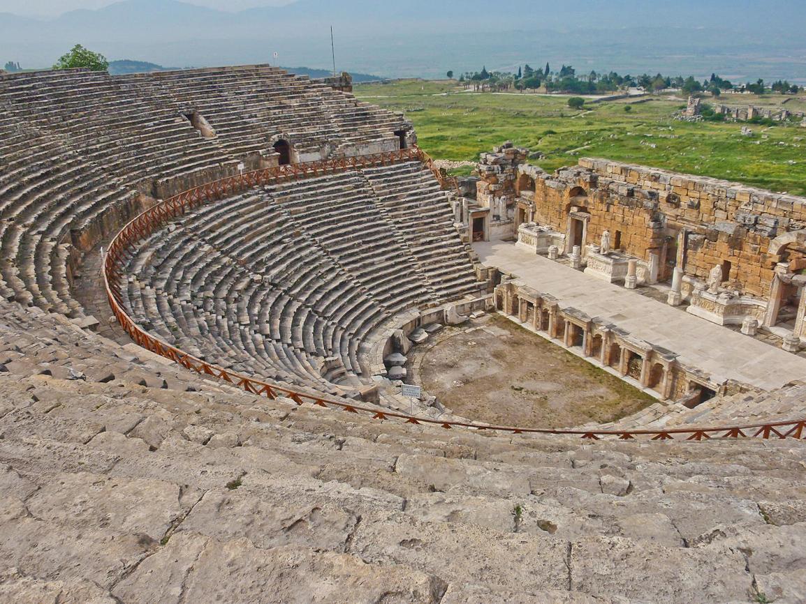 Teater Hierapolis Pamukkale