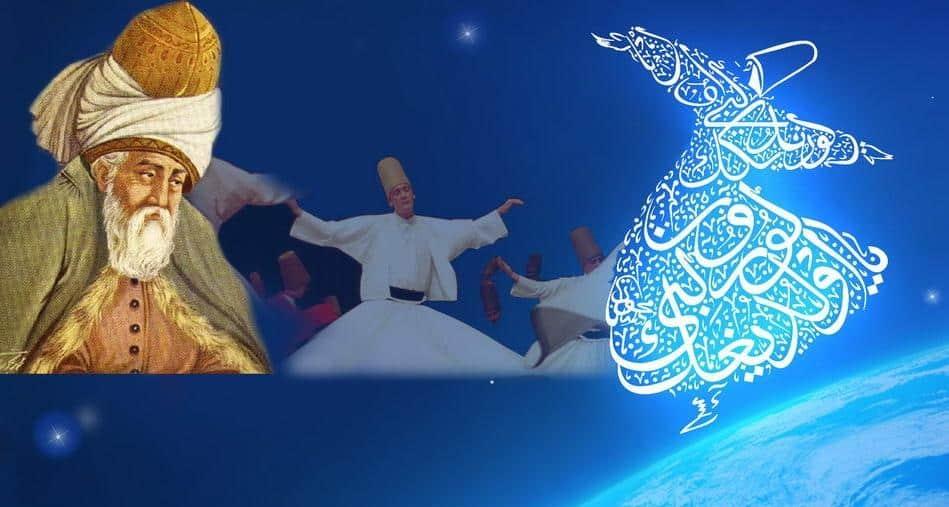 Tarian Sufi Jalaludin Rumi
