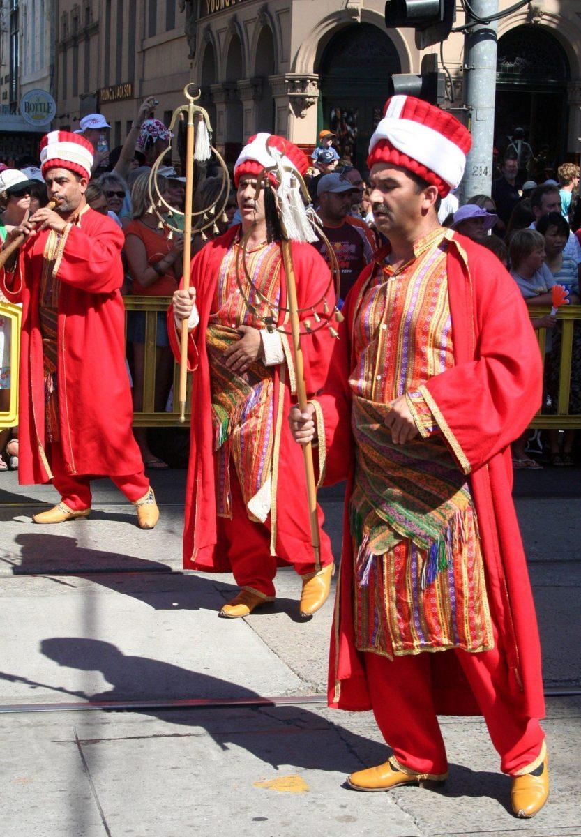 pakaian tradisional pria turki