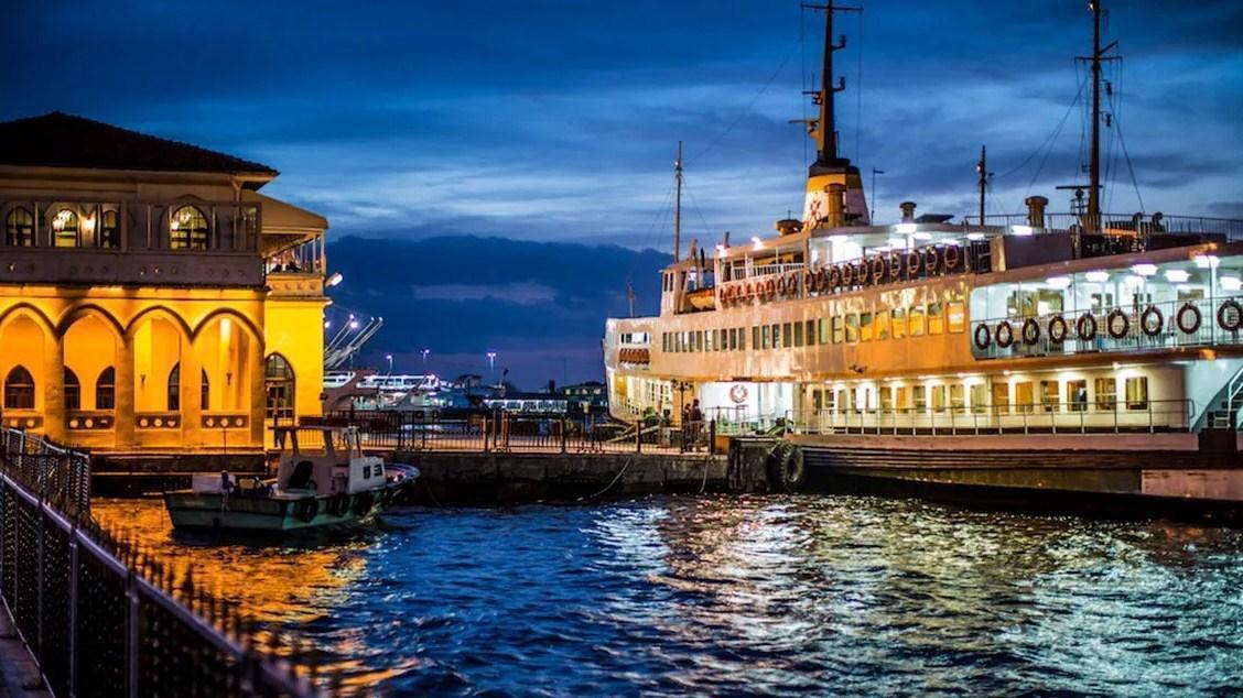 Perjalanan menuju istanbul