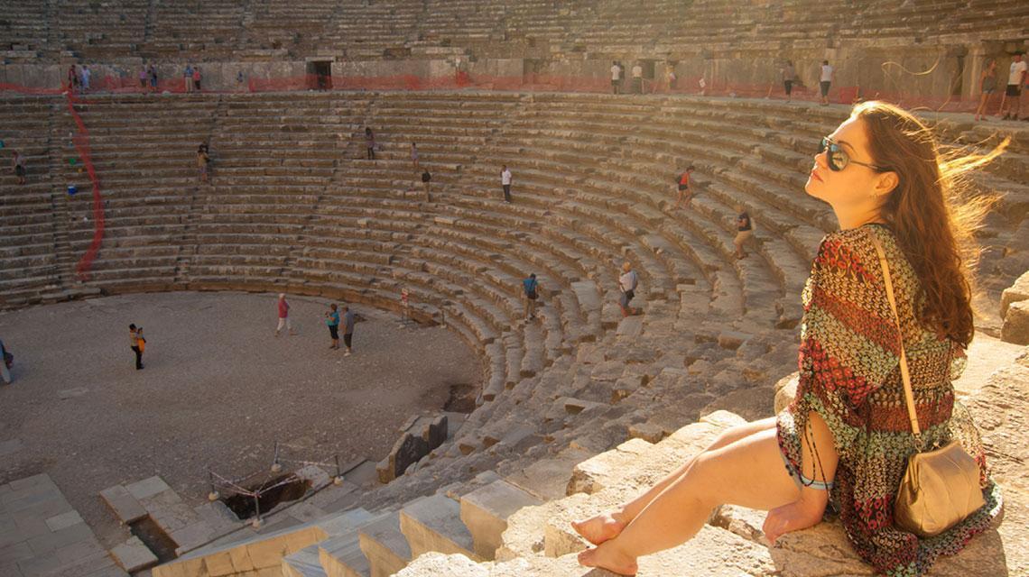 tempat bersejarah di Antalya