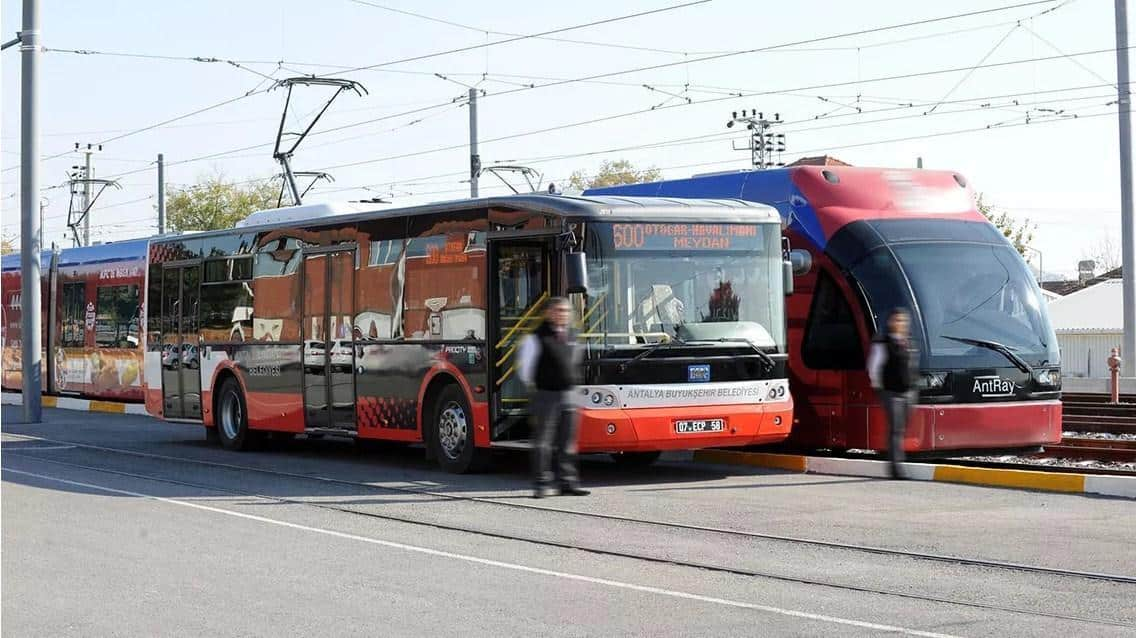 Transportasi Umum di antalya