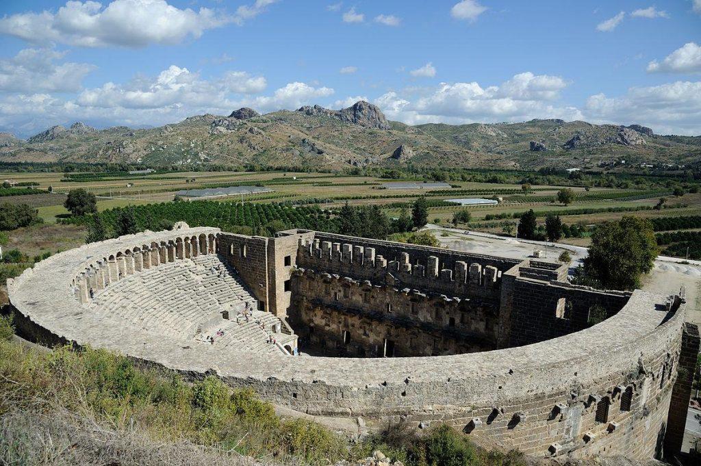 Aspendos Turki, Teater Romawi Terbaik di Dunia