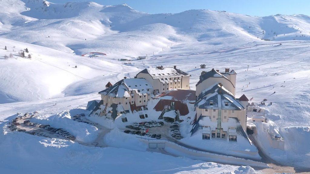 Salju di Gunung Uludag Dan Pesona Winter Resort