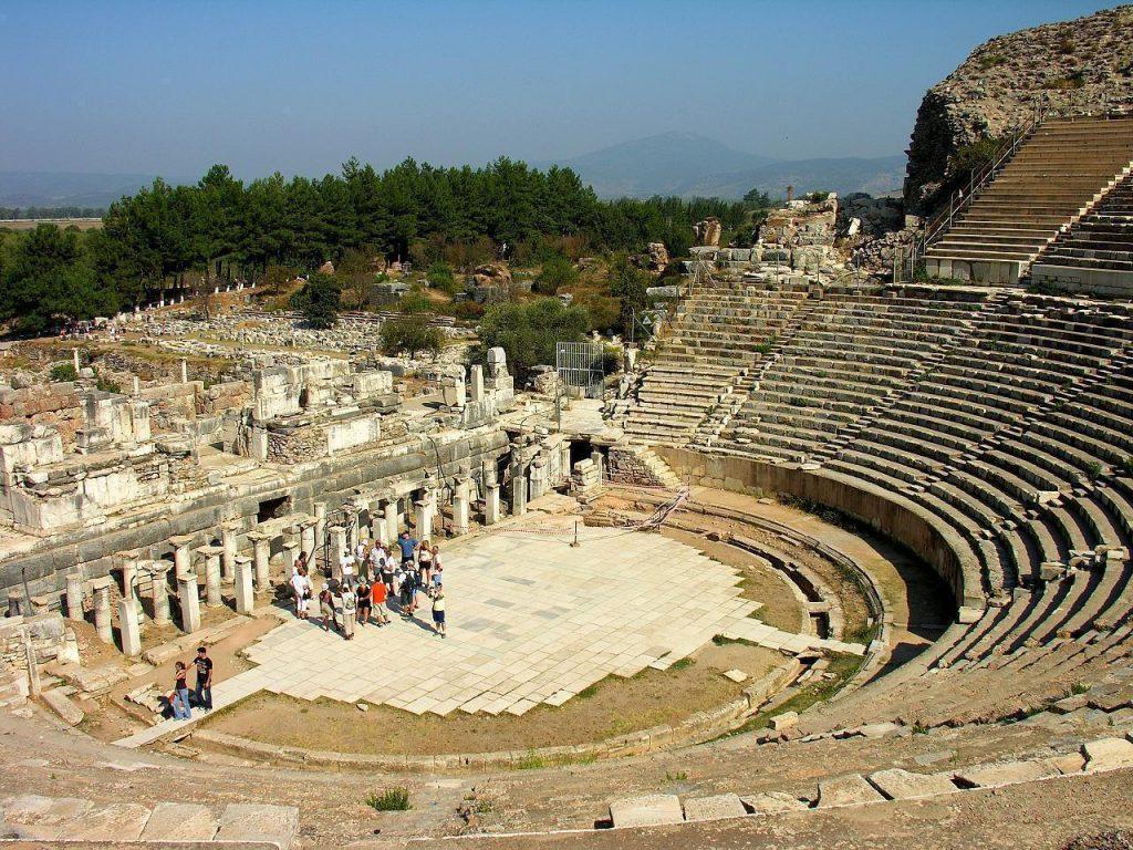 Sejarah Grand Theatre Ephesus