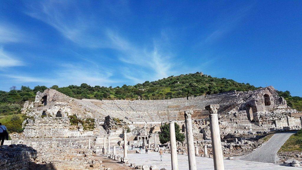 Struktur Bangunan Grand Theatre Ephesus