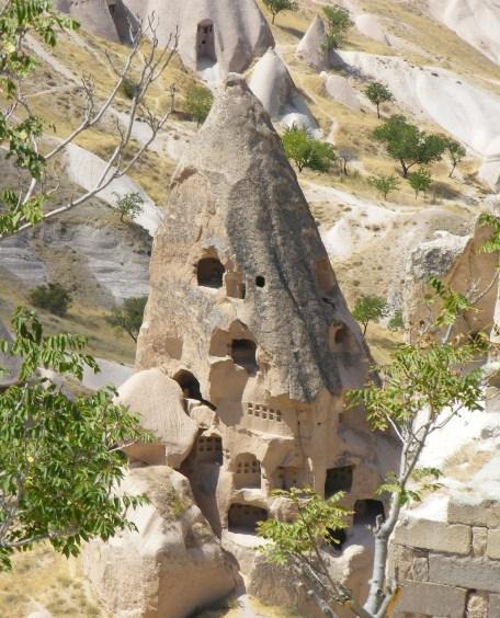 Arsitektur Kastil Uchisar
