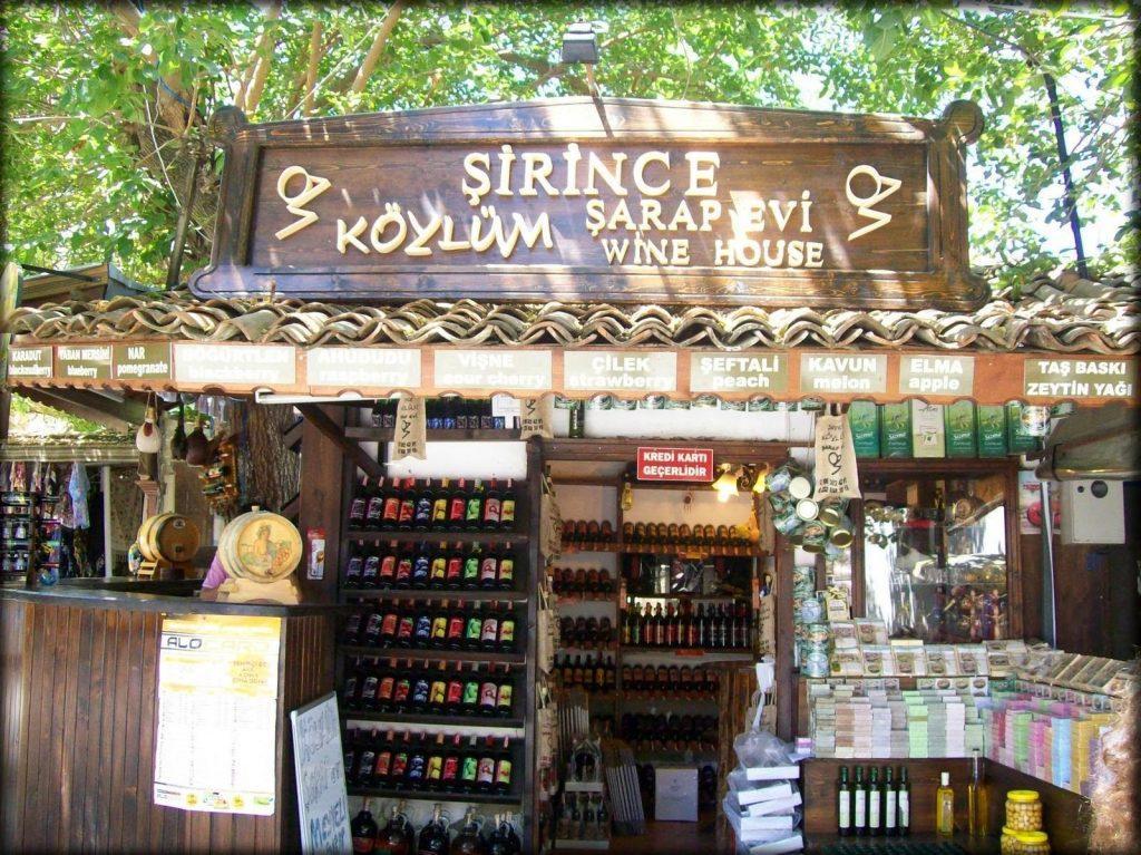 Desa Sirince Terkenal Sebagai Penghasil Wine