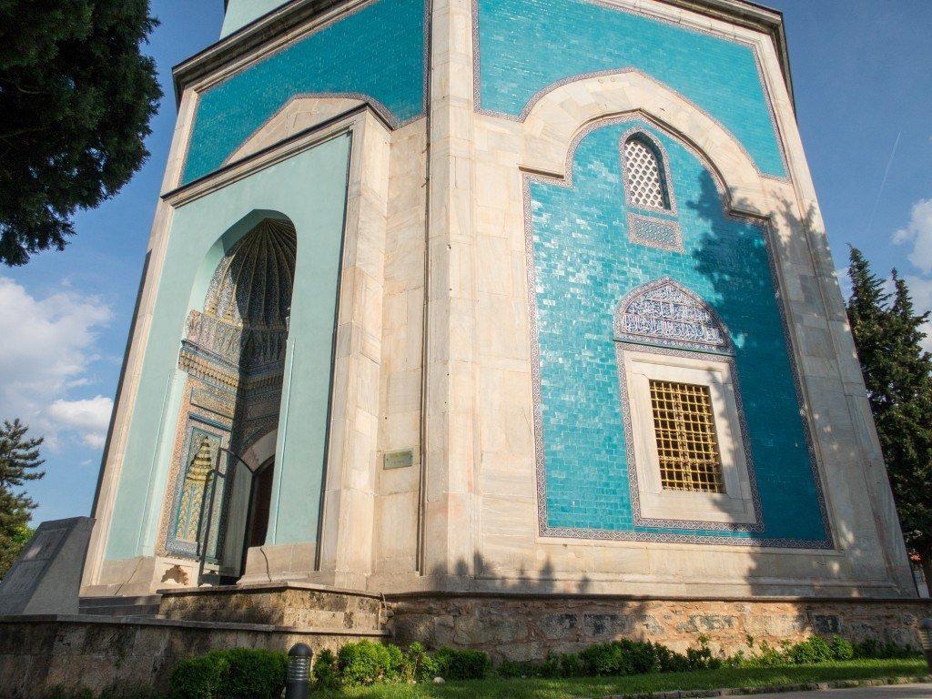 Makam Hijau (Green Tomb) Saat Matahari Terbenam