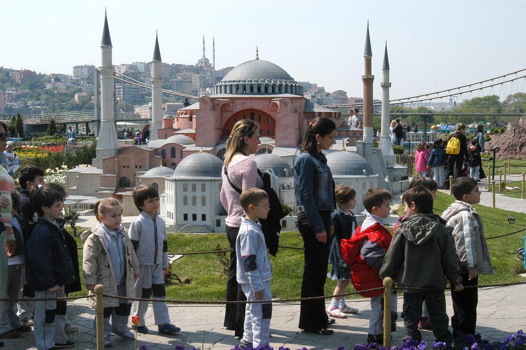 Miniatürk, Miniatur Kota Seantero Turki