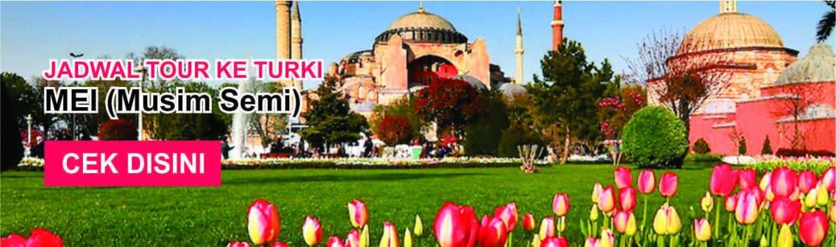 Jadwal promo paket tour ke turki murah mei musim semi