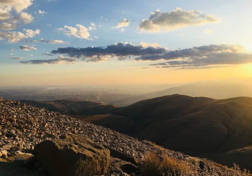 View dari Gunung Nemrut