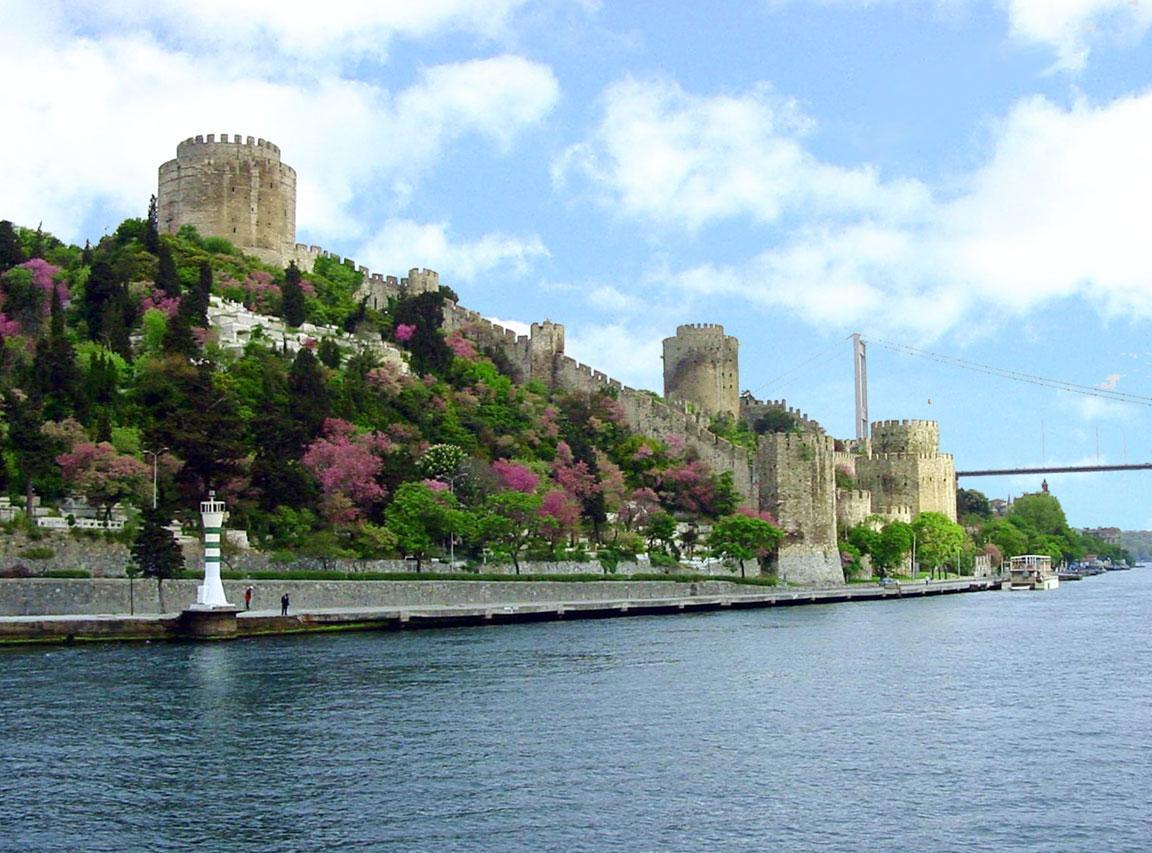 Benteng Rumeli Hisari bosphorus Turki