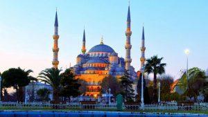 masjid biru di istanbul turki