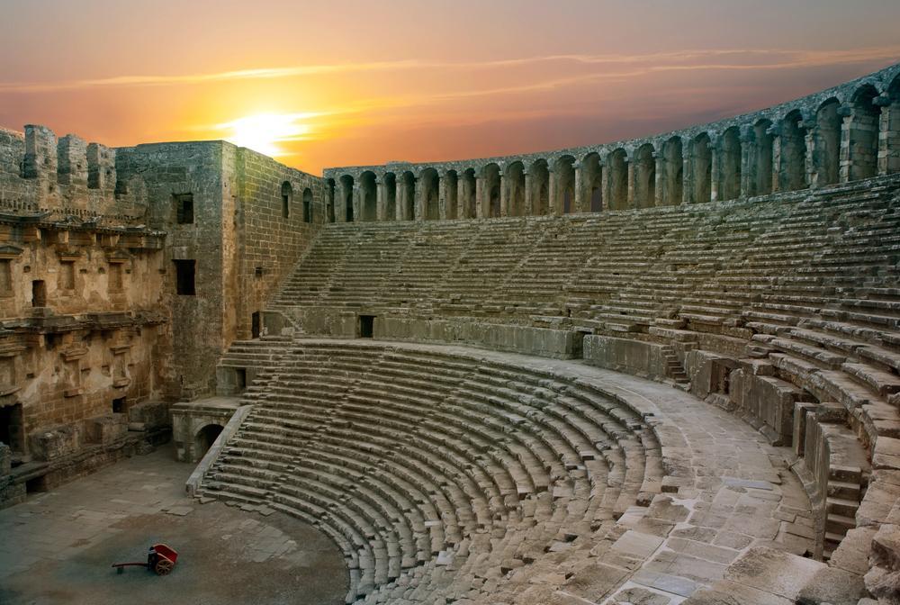 Aspendos Theatre Antalya Turki