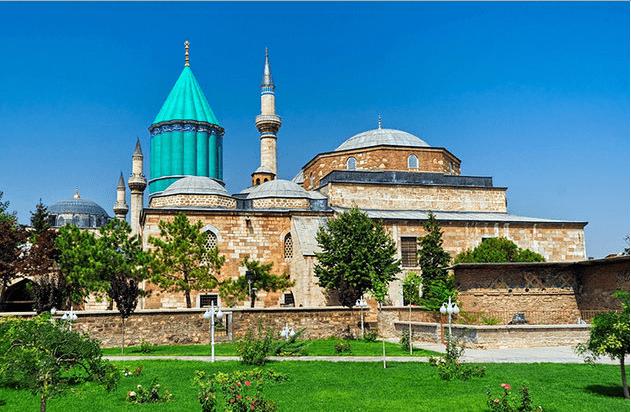 Mevlana Museum di Konya Turki