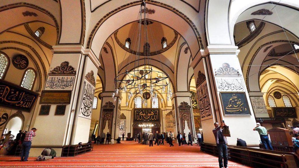 interior masjid agung bursa 2